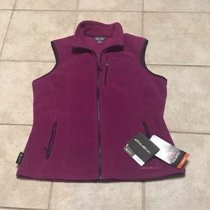 Eddie Bauer Quest 200 PolarTec Fleece Vest Size L